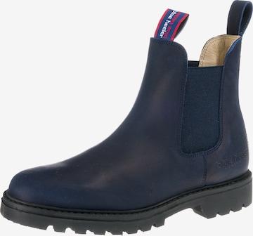 Blue Heeler Chelsea Boots 'Meryl' in Blau