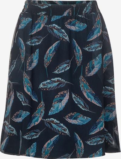 CECIL Chiffon-Rock mit Muster in blau, Produktansicht