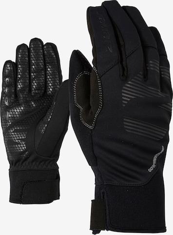 ZIENER Handschuhe 'Ilko Glove' in Schwarz