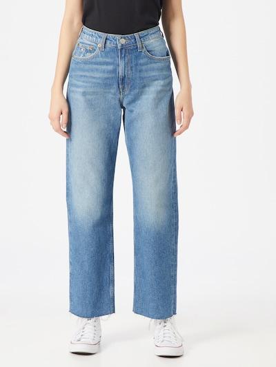 Tommy Jeans Jean 'HARPER' en bleu denim, Vue avec modèle