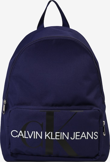 Calvin Klein Jeans Rucksack 'MONOGRAM CAMPUS' in blau, Produktansicht