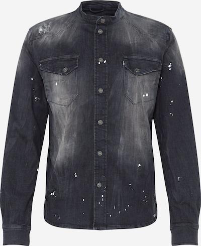 tigha Koszula 'Freddy 6965 patched' w kolorze czarny denimm, Podgląd produktu