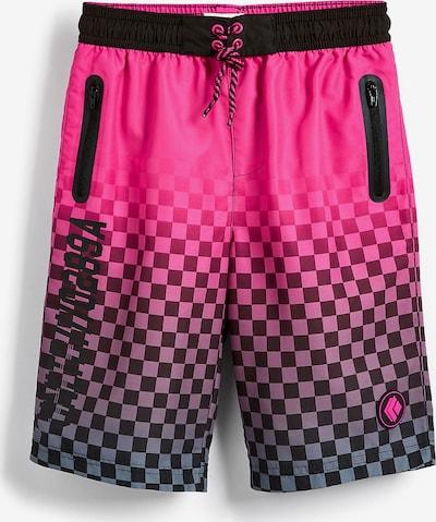 NEXT Badehose in pink / schwarz, Produktansicht