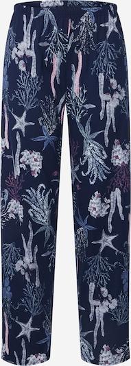 CALIDA Pantalon de pyjama en bleu foncé, Vue avec produit