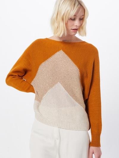 Hailys Pullover 'Kimber' in orange, Modelansicht