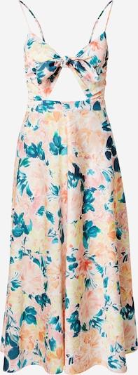 For Love & Lemons Robe d'été 'HOLIS' en vert / pêche / rose, Vue avec produit