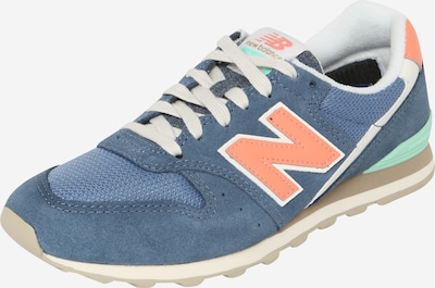 Sneaker low new balance pe albastru porumbel / jad / coral, Vizualizare produs