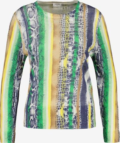 GERRY WEBER Pullover Langarm Rundhals Pullover aus Leinengarn in mischfarben, Produktansicht