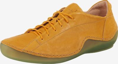 THINK! Kapsl Schnürschuhe in beige / gelb, Produktansicht