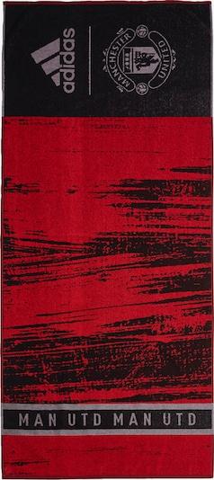 ADIDAS PERFORMANCE Handdoek 'Manchester United' in de kleur Lichtgrijs / Rood / Zwart, Productweergave