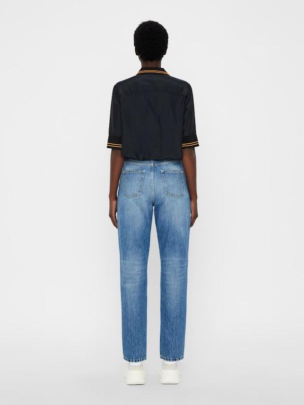 J.Lindeberg J.Lindeberg J.Lindeberg Poloshirt 'Nina' in dunkelOrange   schwarz  Markenkleidung für Männer und Frauen 525284