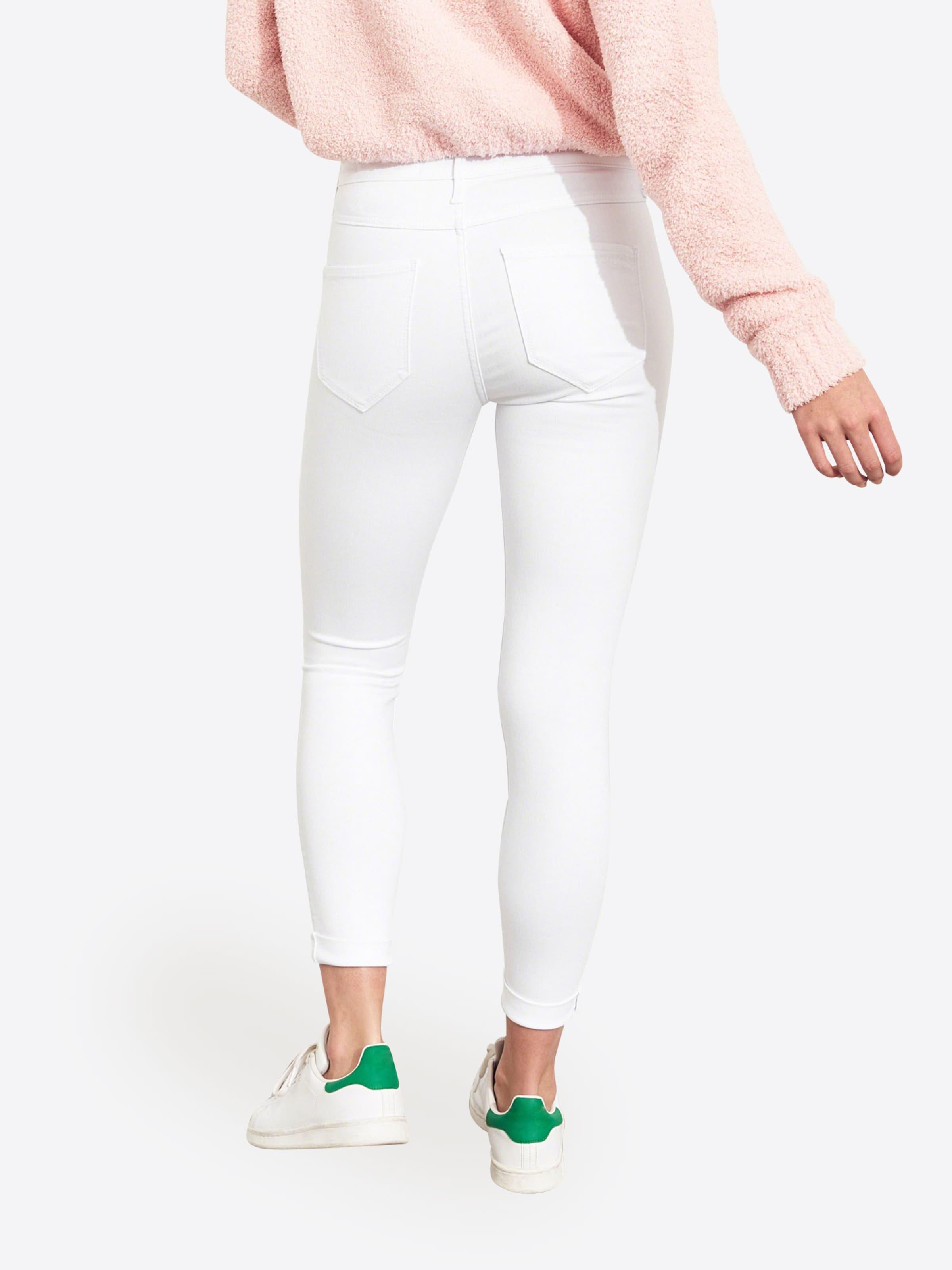 Jeans 'sb19 In Exp wt Shnk White Hrjl Denim Crop' Hollister 0mN8wOvn