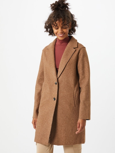 ONLY Summer coat 'CARRIE' in light brown, View model