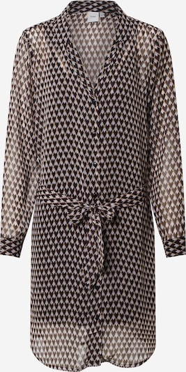 ICHI Košulja haljina 'ASSIP' u žuta / crna / bijela, Pregled proizvoda