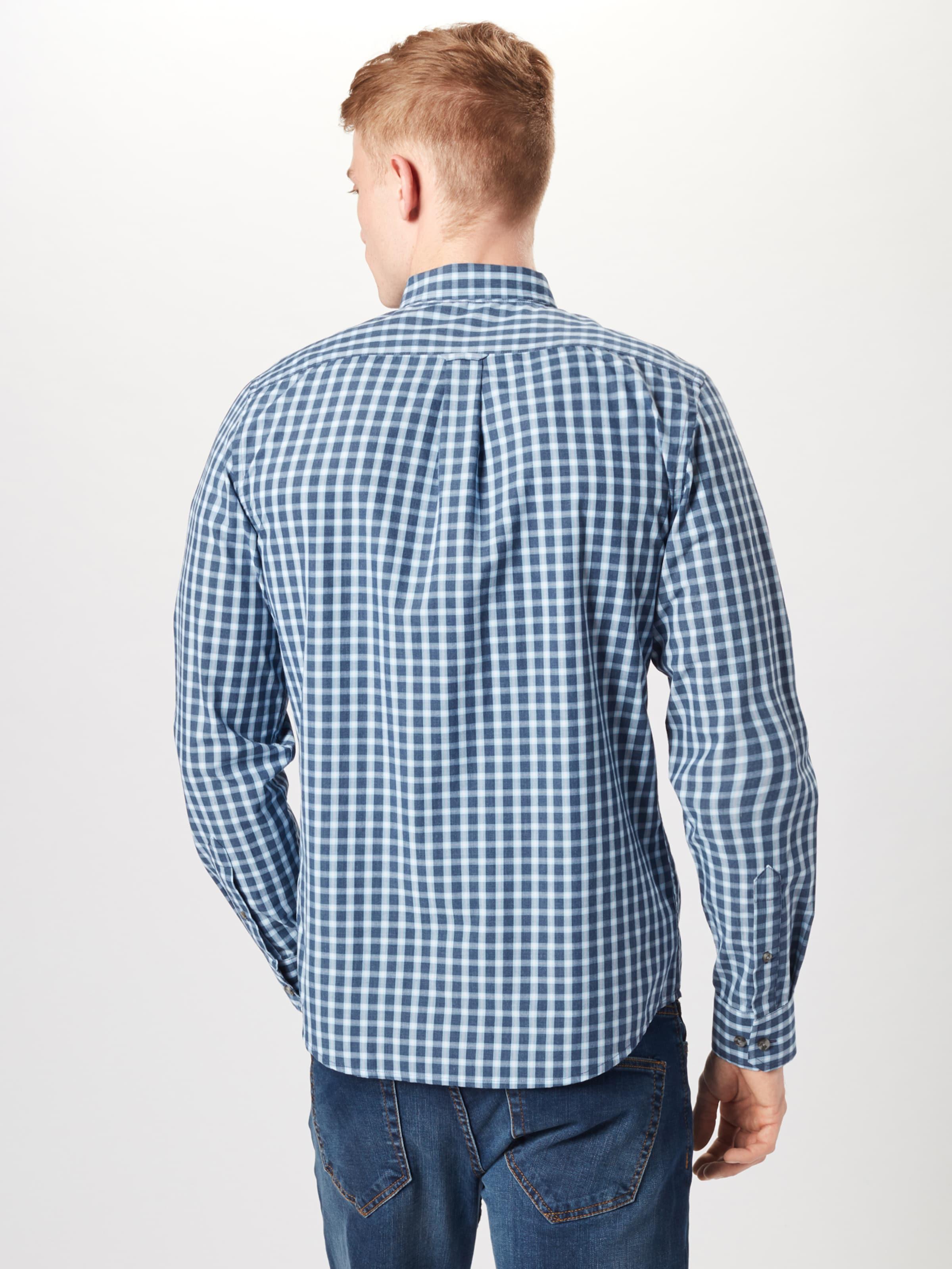 'check DunkelblauWeiß Bd In Hemd Izod Shirt' CxrdoBe