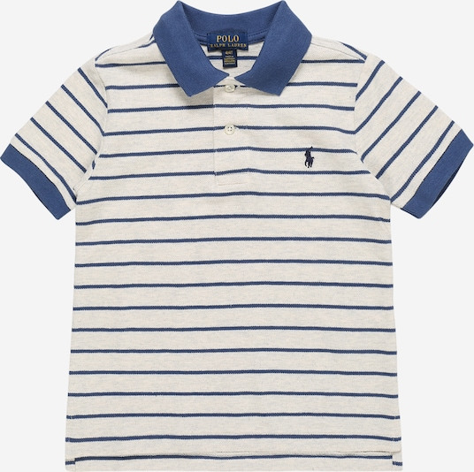 POLO RALPH LAUREN Shirt in de kleur Beige / Navy, Productweergave