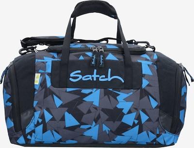 Satch Tasche in nachtblau / taubenblau / neonblau, Produktansicht
