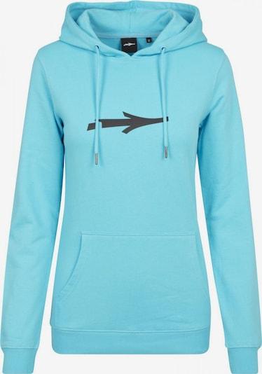 Illmatic Sweatshirt in de kleur Turquoise / Zwart, Productweergave