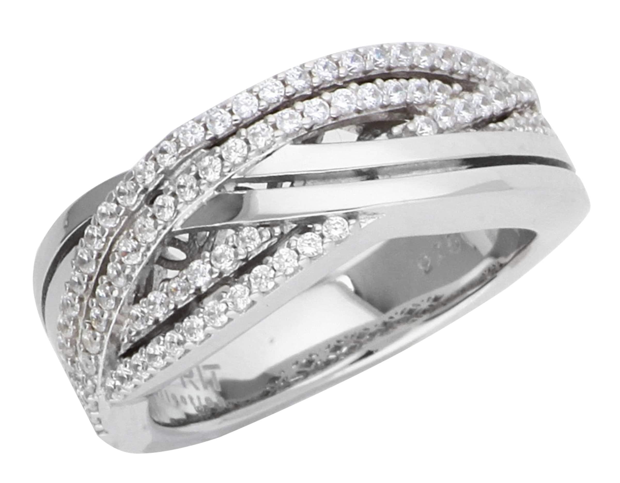 ESPRIT Ring Cleodora mit Zirkonia-Steinbesatz ELRG91875A Vermarktbare Günstig Online Günstige Spielraum Store EIDTUGkq4