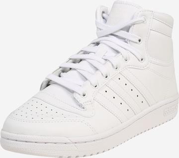 ADIDAS ORIGINALS High-Top Sneakers 'TOP TEN' in White