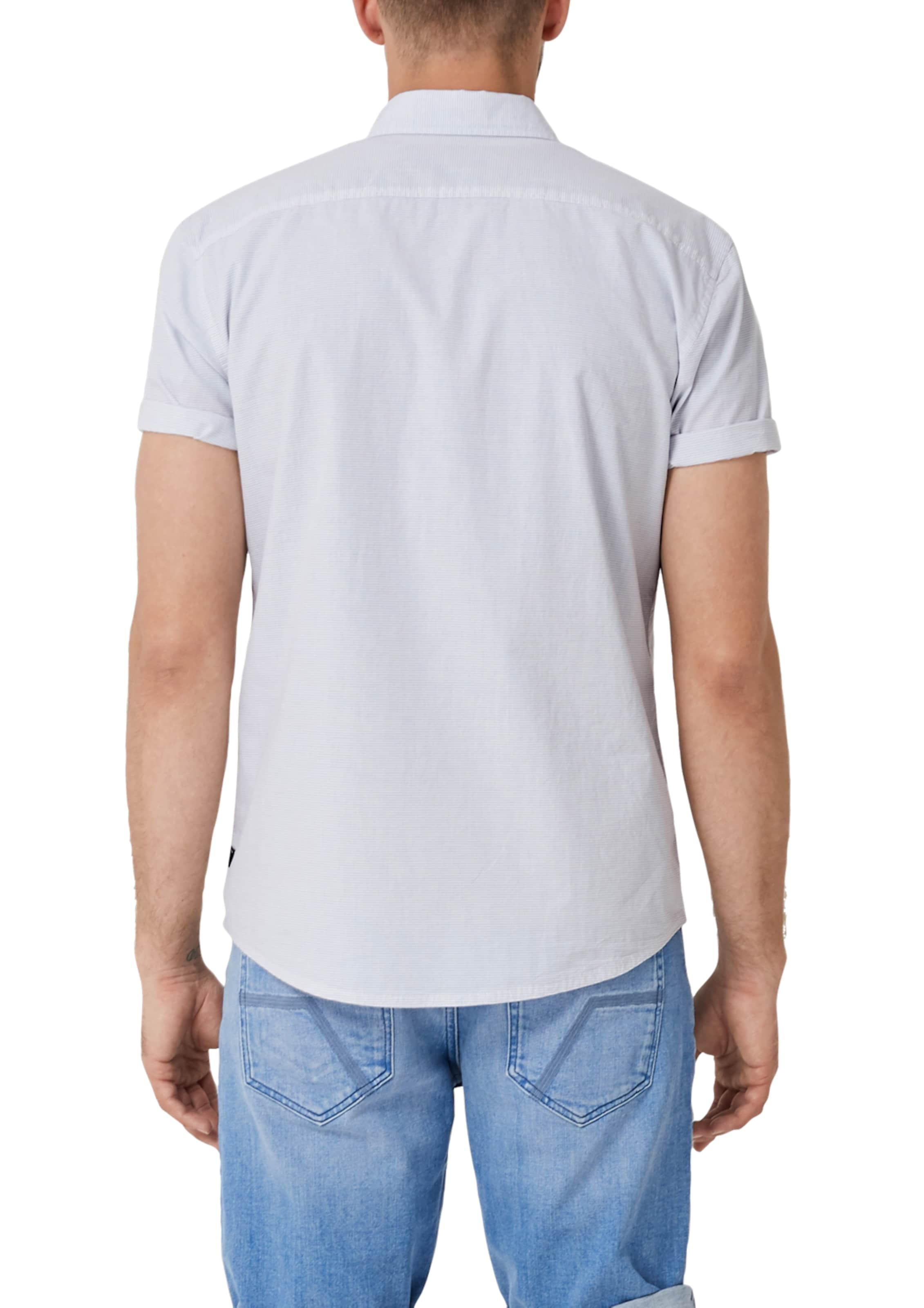 oliver Label TaubenblauWeiß In Hemd S Red rCxWdBoe