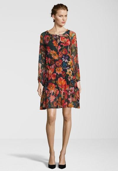 Frogbox Kleid mit Allover-Blumenprint in mischfarben, Produktansicht