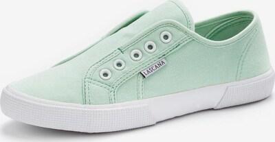 LASCANA Sneaker in mint, Produktansicht