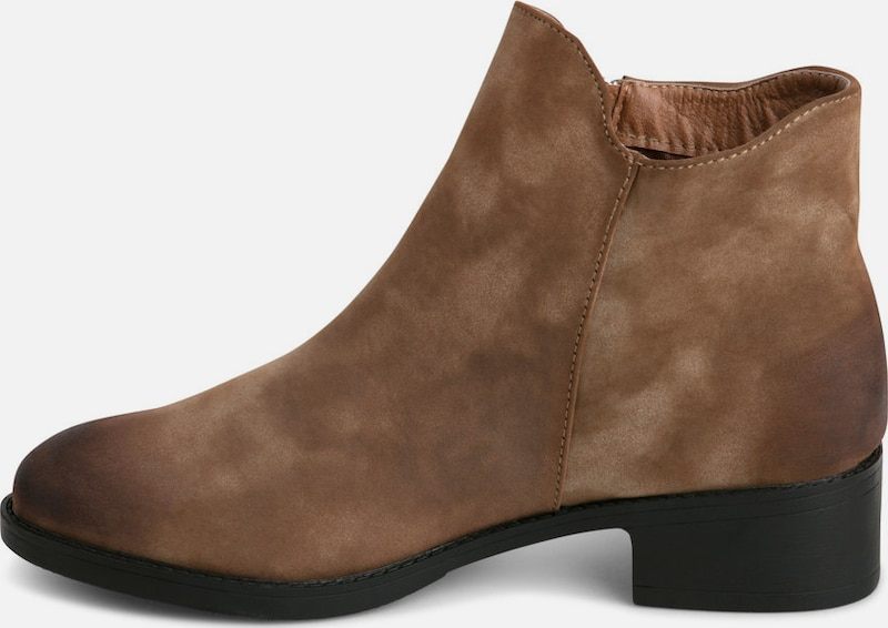 PIECES Braune Stiefel