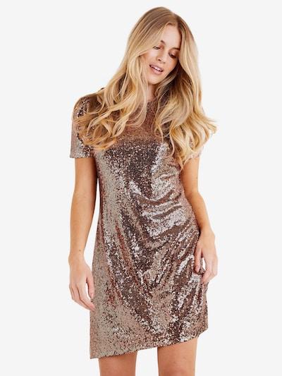 Mela London Šaty 'SEQUIN PUFF SLEEVE DRESS' - zlatá, Model/ka
