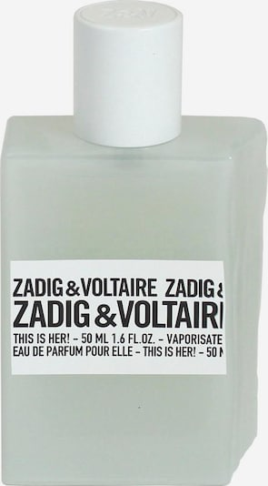 Zadig & Voltaire 'This is Her!' Eau de Parfum in transparent / weiß, Produktansicht
