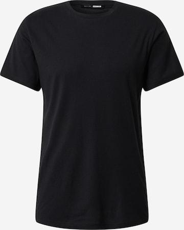 DAN FOX APPAREL Shirt 'Piet' in Schwarz