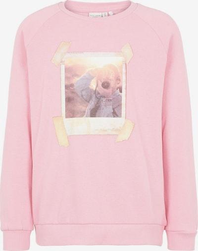NAME IT Sweatshirt in beige / hellpink, Produktansicht