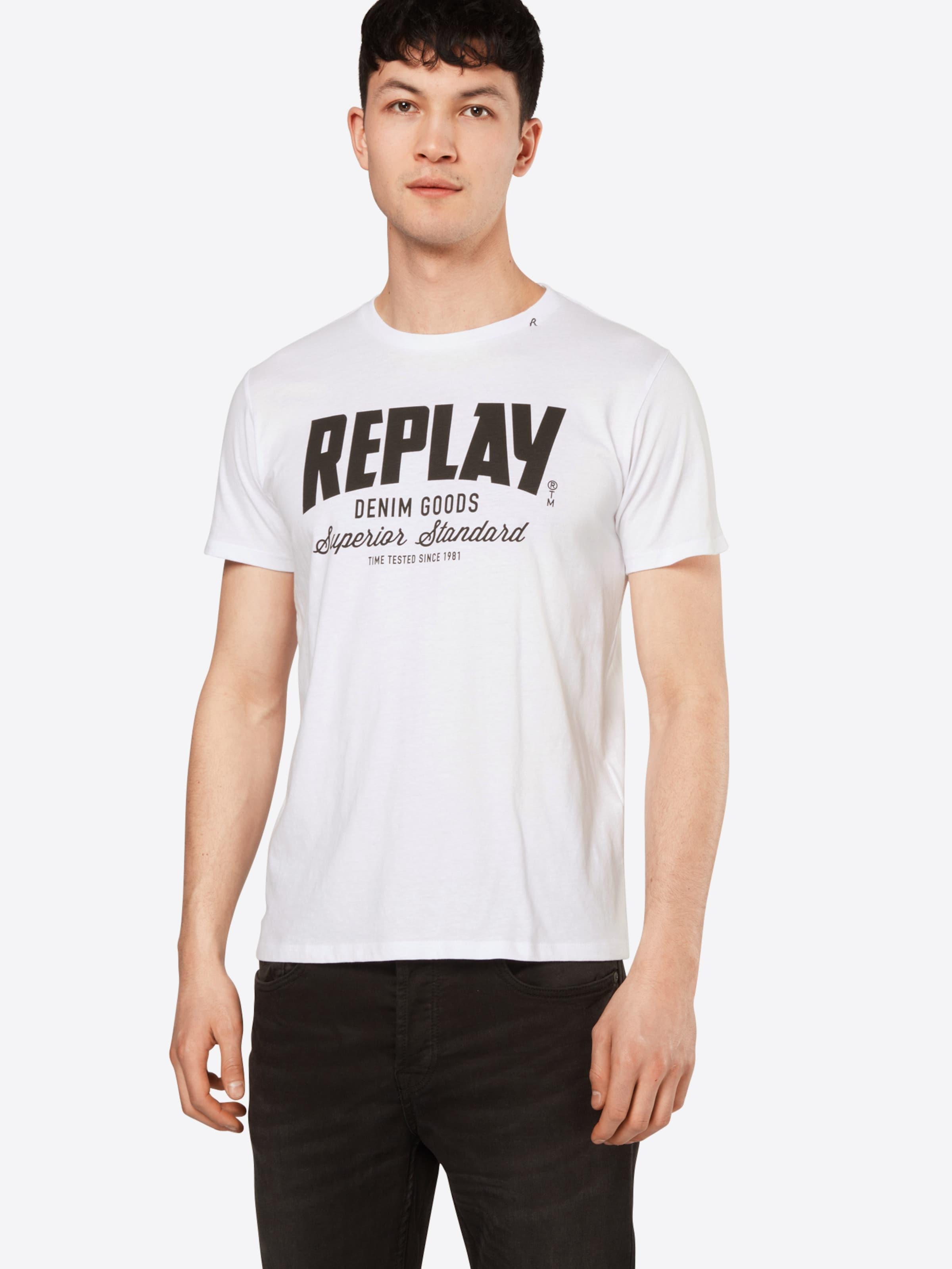 REPLAY T-Shirt Freies Verschiffen Offiziell xeGoz