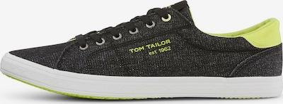 TOM TAILOR Sneaker in neongrün / schwarz, Produktansicht