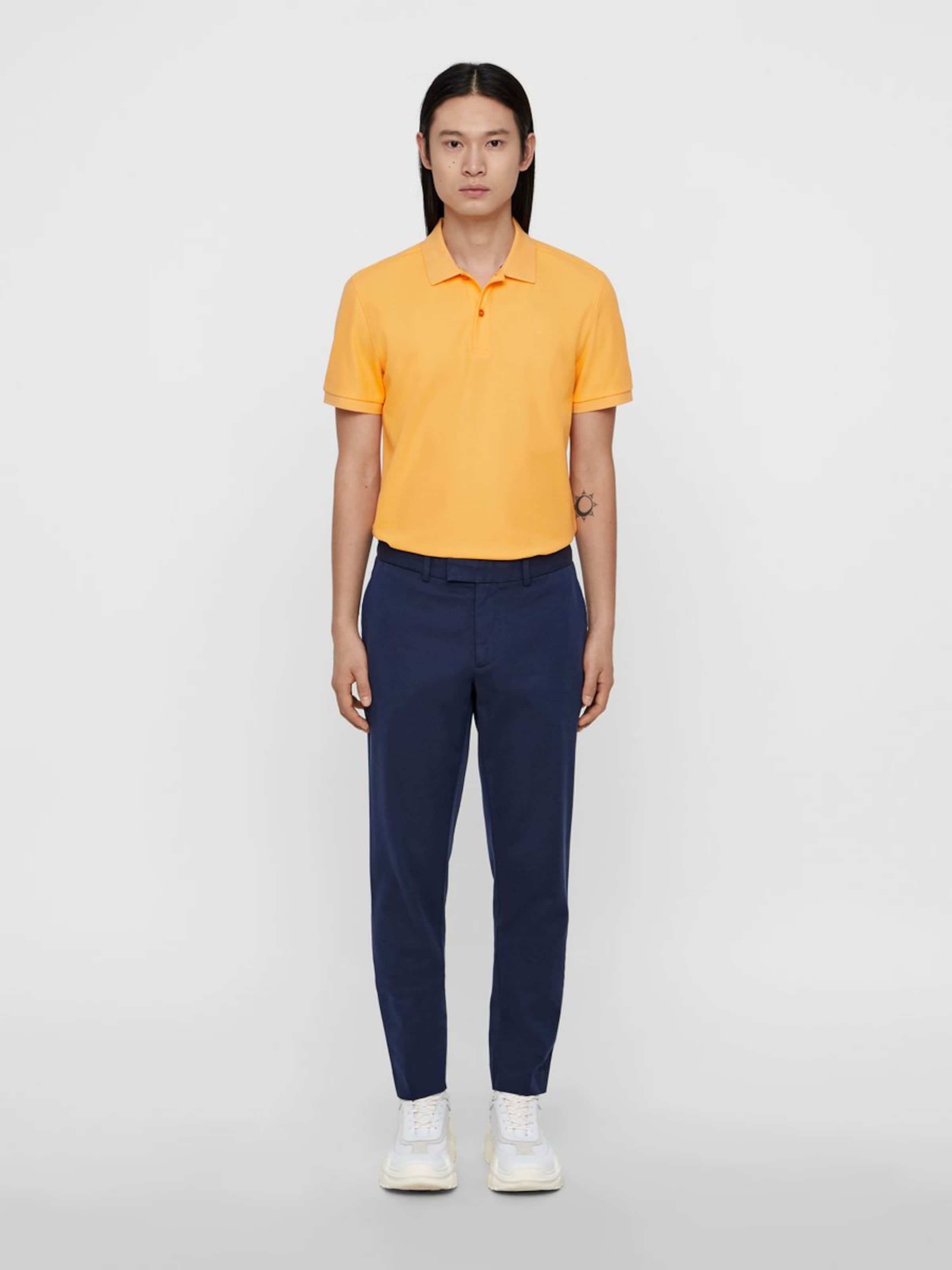 Poloshirt In Hellorange 'troy J lindeberg Pique' Clean 4LRj35A