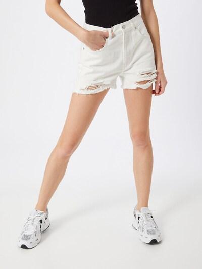NU-IN Jeans 'Distressed' in weiß, Modelansicht