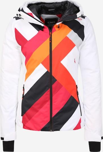 CMP Veste de sport en mélange de couleurs / blanc, Vue avec produit