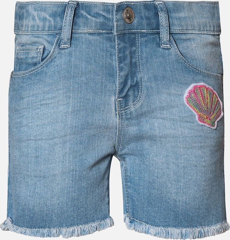 myToys-COLLECTION Jeansshorts in blau, Produktansicht