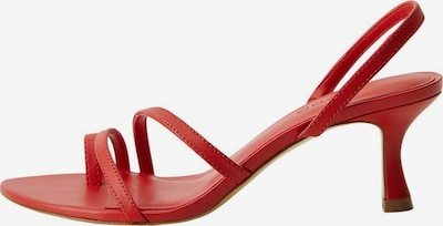MANGO Sandaletten 'Loma' in rot, Produktansicht