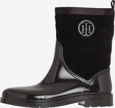 TOMMY HILFIGER Regenlaarzen in de kleur Zwart, Productweergave