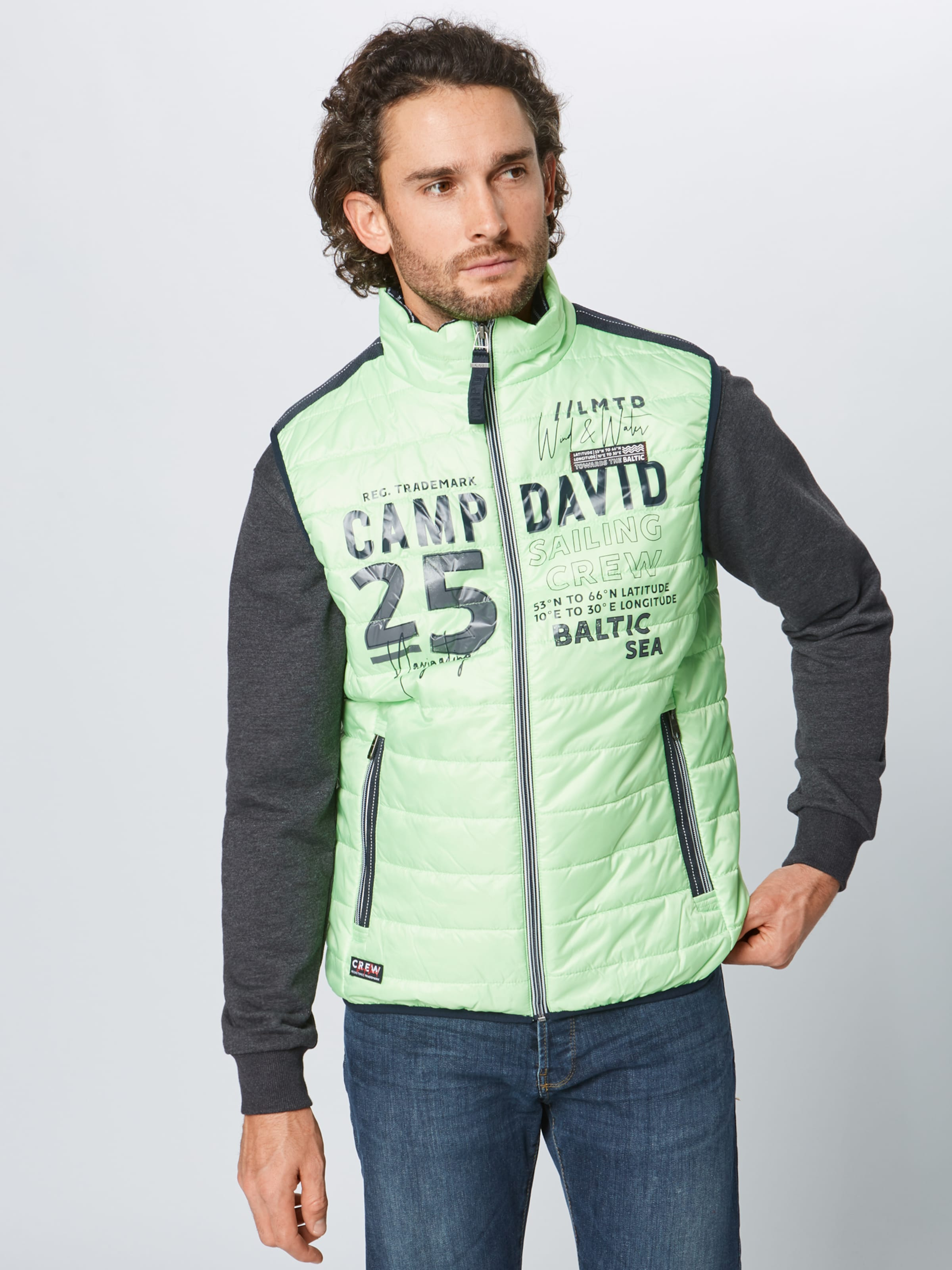 Vert Clair David Camp Gilet En roCxBedW