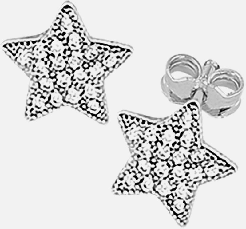 SO COSI Oorbellen 'WISHING ON A STAR' in de kleur Zilver, Productweergave
