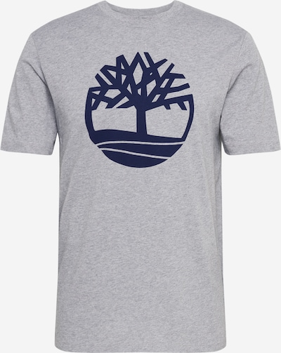 TIMBERLAND Shirt 'K-R Brand Tree T L4L' in blau / grau, Produktansicht