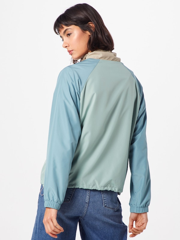 ClairMenthe Wood Bleu 'robyn Jacket' Corail En Veste Mi saison tdQrCsxh