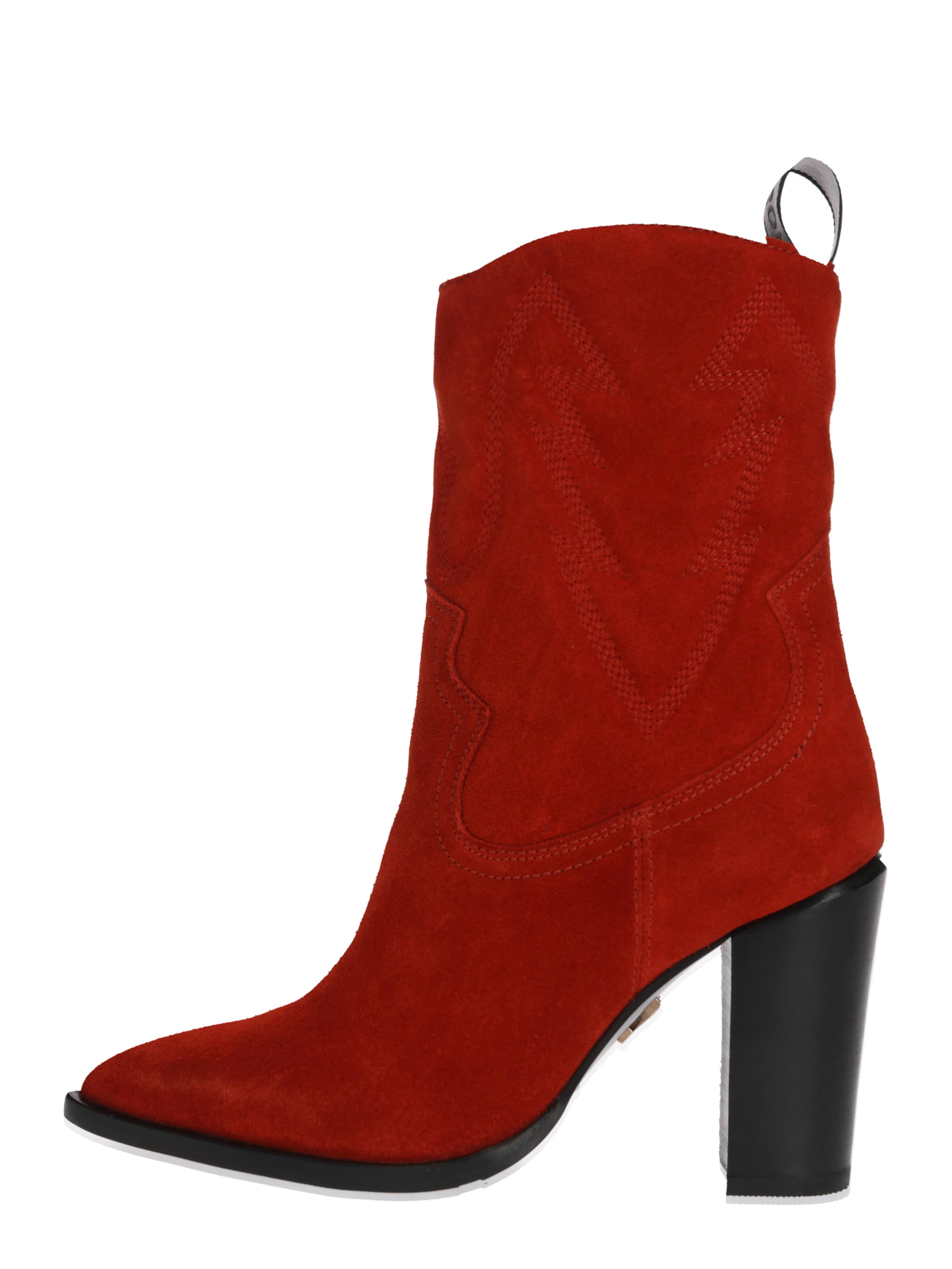 En Bronx Rouge Americana' Rouille Bottines 'new dBoexWrC