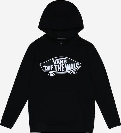 VANS Sweatshirt in schwarz / weiß, Produktansicht