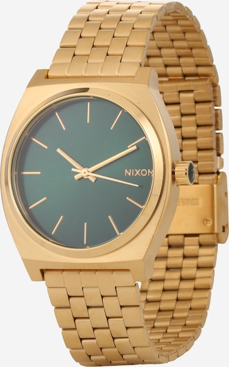 Nixon Armbanduhr 'Time Teller' in gold / grün, Produktansicht