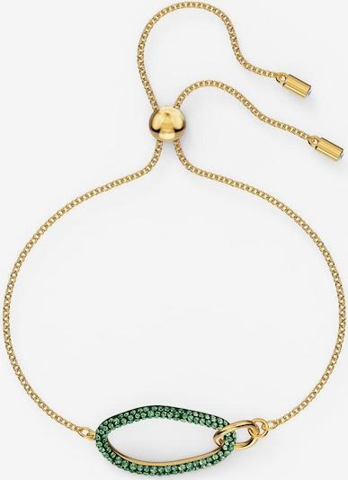 Swarovski Armband 'The Elements' in goldgelb / grün, Produktansicht