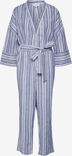Native Youth Jumpsuit 'THE SHEMIAH' in de kleur Blauw / Wit, Productweergave