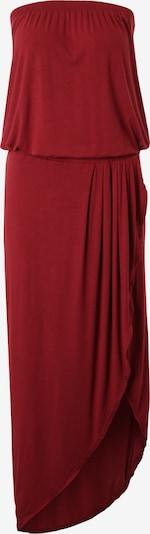 Urban Classics Kleid in burgunder: Frontalansicht